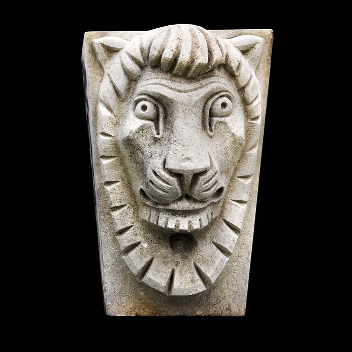 A Lions Head Keystone by Sir Charles Wheeler
