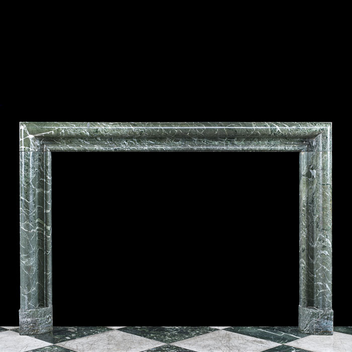 19th Century Tinos Verde Marble Bolection