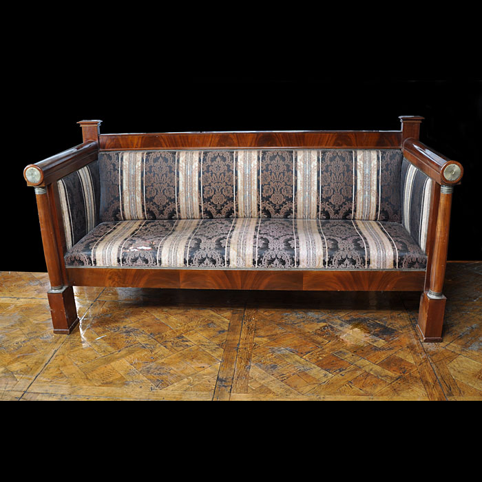 A Mahogany Biedermeir Style Baltic Sofa