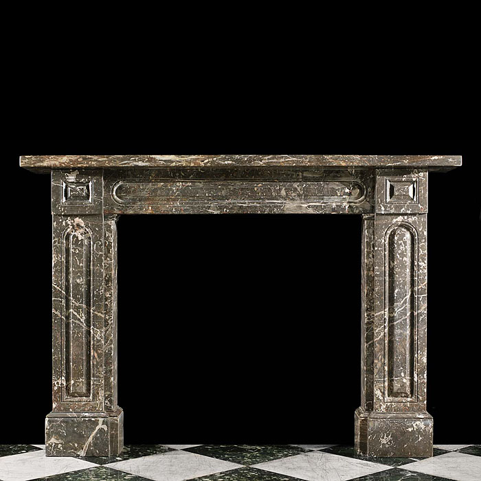 An Ashburton Marble Victorian fireplace surround