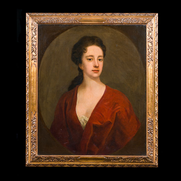 Oil Painting Portrait of an 18th Century Lady