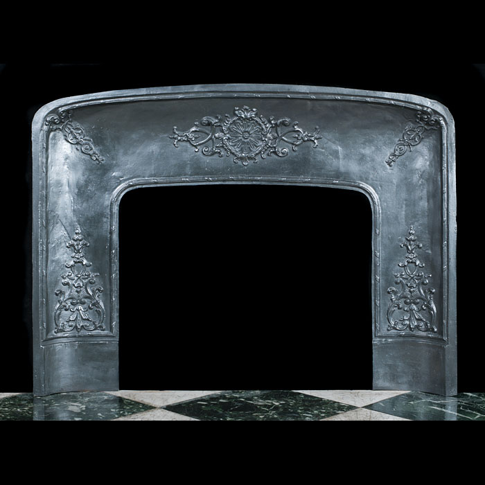 Antique Louis XIV Style Fireplace Insert