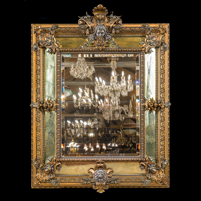 French Renaissance Revival Gilt Mirror