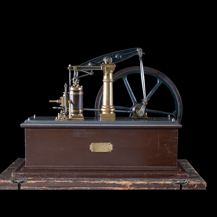 A Scale Model of a rotative Steam Beam Engine
